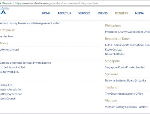 Vietlott chính thức là thành viên Hiệp hội xổ số thế giới